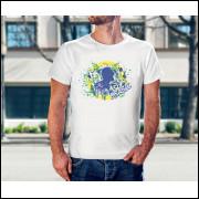 Camiseta Unissex Brasil Copa do Mundo 2018 Modelo 04