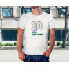 Camiseta Unissex Brasil Copa do Mundo 2018 Modelo 10