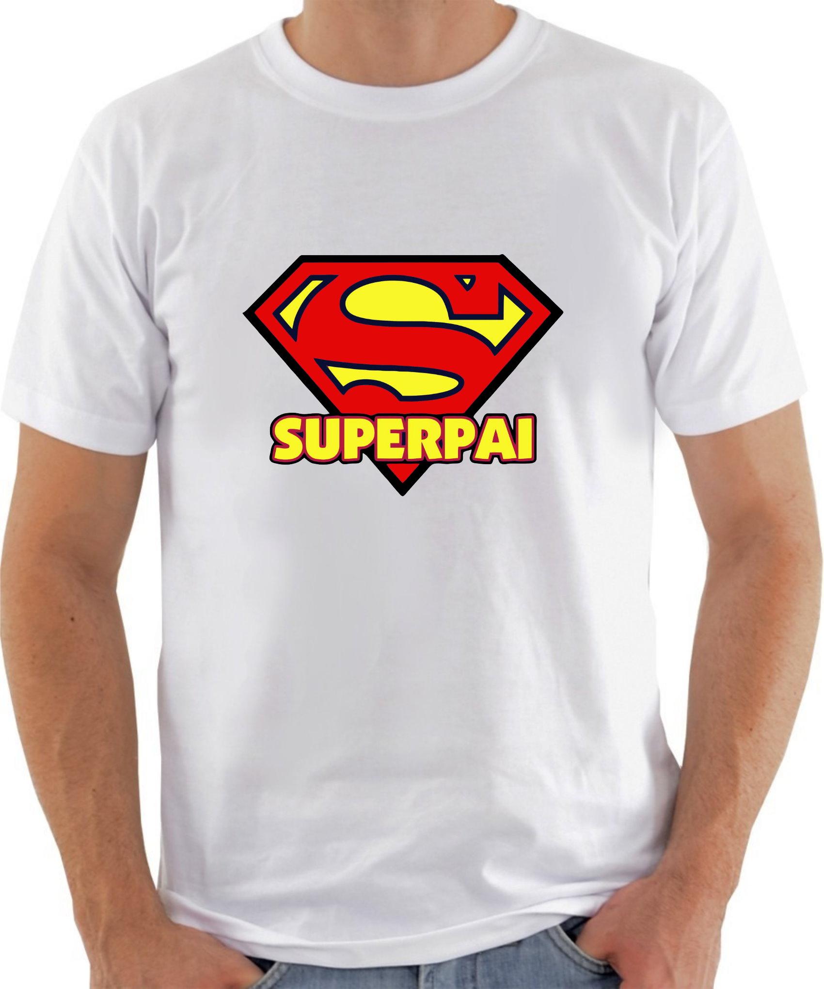 Camiseta Dia Dos Pais Super Pai Modelo 02